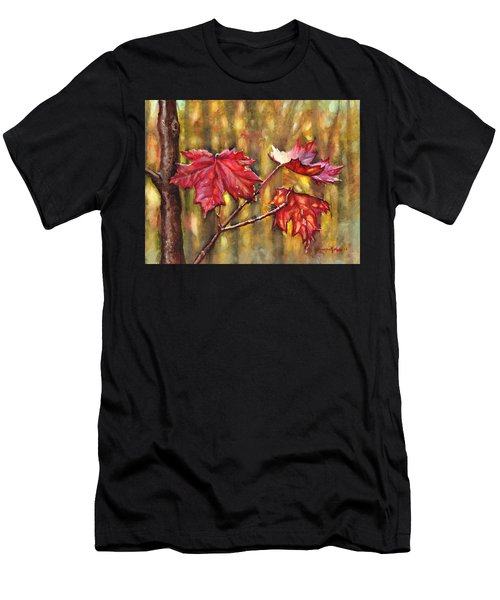 Morning After Autumn Rain Men's T-Shirt (Athletic Fit)