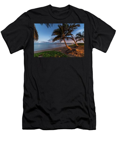 Men's T-Shirt (Athletic Fit) featuring the photograph Morning Aloha by Pierre Leclerc Photography