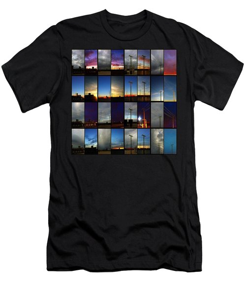 Morning And Evening Retrospective Men's T-Shirt (Athletic Fit)