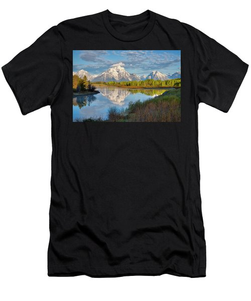 Morning At Oxbow Bend Men's T-Shirt (Athletic Fit)