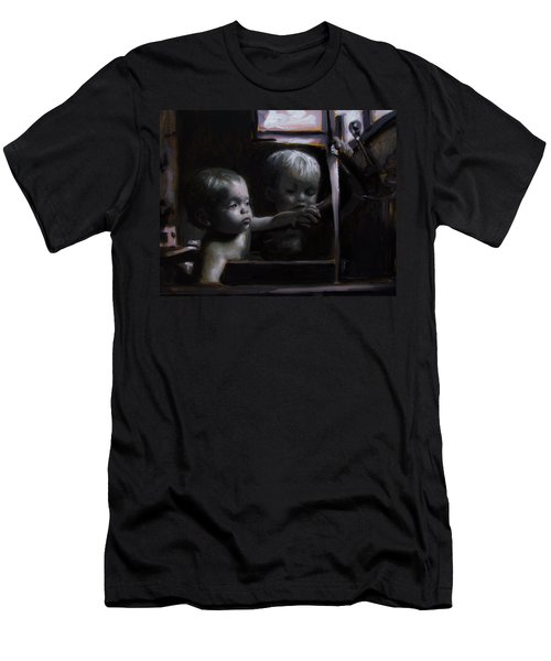 Morning Bath Men's T-Shirt (Athletic Fit)