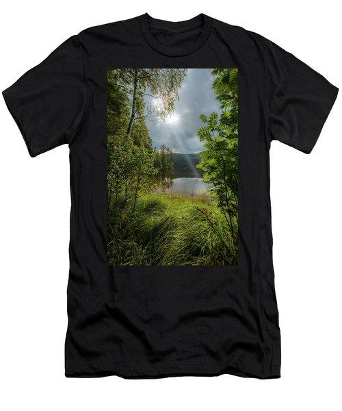 Morning Breath Men's T-Shirt (Athletic Fit)