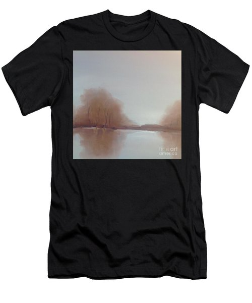 Men's T-Shirt (Athletic Fit) featuring the painting Morning Chill by Michelle Abrams