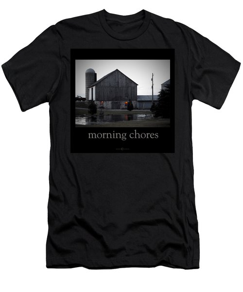 Morning Chores Men's T-Shirt (Athletic Fit)