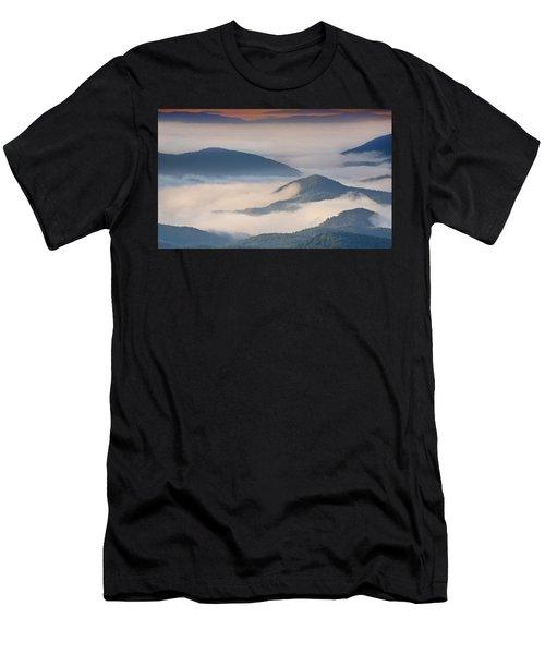 Morning Cloud Colors Men's T-Shirt (Athletic Fit)