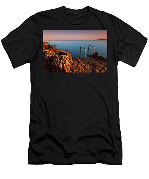 Men's T-Shirt (Athletic Fit) featuring the photograph Morning Colors by Davor Zerjav