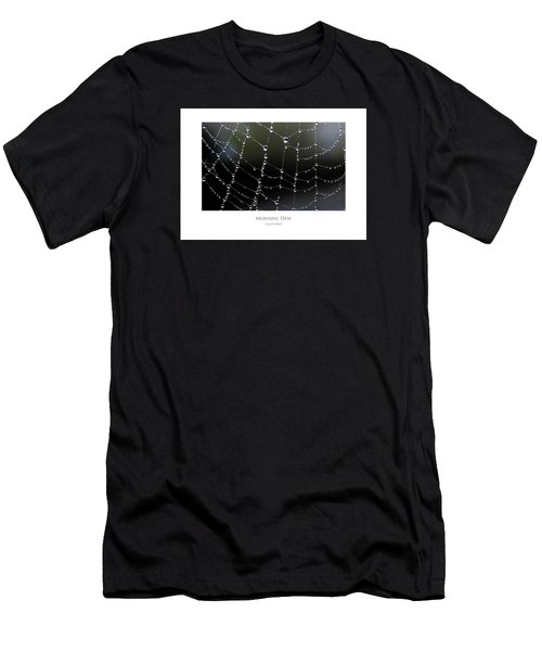 Men's T-Shirt (Athletic Fit) featuring the digital art Morning Dew by Julian Perry