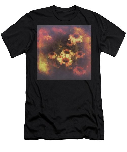 Morning Fire - Fierce Flower Beauty Men's T-Shirt (Athletic Fit)
