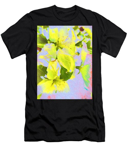 Morning Floral Men's T-Shirt (Athletic Fit)