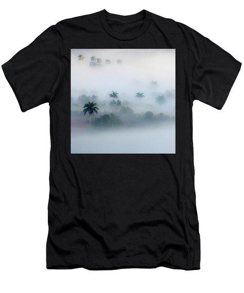 Morning Fog, Vinales Valley Men's T-Shirt (Athletic Fit)