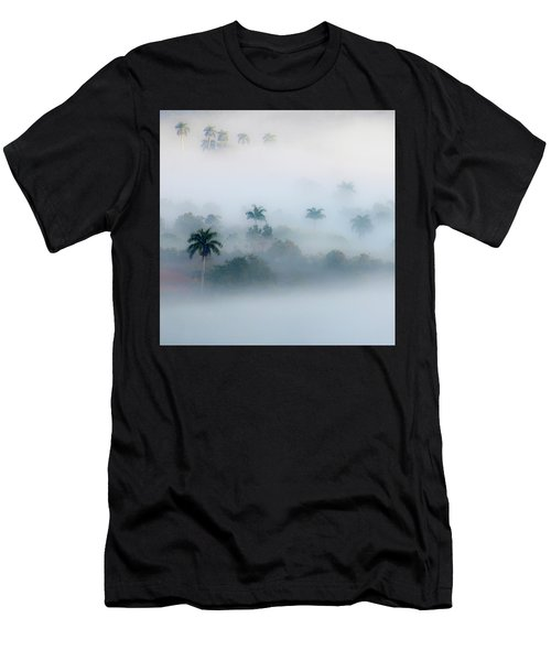 Morning Fog, Vinales Valley Men's T-Shirt (Athletic Fit)