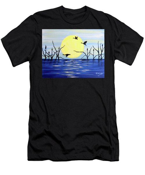 Morning Geese Men's T-Shirt (Athletic Fit)