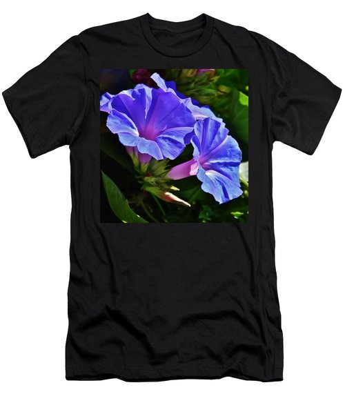Morning Glory Flower Men's T-Shirt (Athletic Fit)