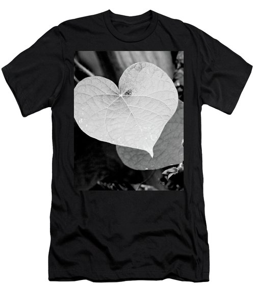 Morning Glory Heart Men's T-Shirt (Athletic Fit)