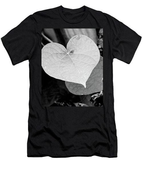 Morning Glory Heart Men's T-Shirt (Slim Fit)