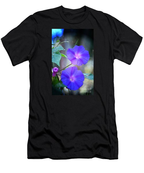 Morning Glory Men's T-Shirt (Slim Fit) by Kathy Baccari
