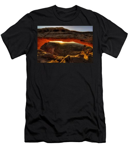 Morning Glow At Mesa Arch Men's T-Shirt (Athletic Fit)
