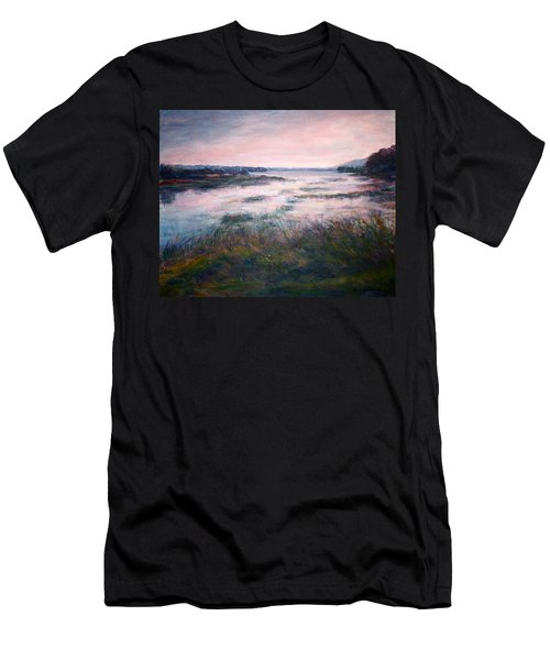 Morning Glow Men's T-Shirt (Slim Fit) by Quin Sweetman