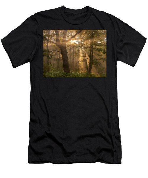 Morning God Rays Men's T-Shirt (Athletic Fit)