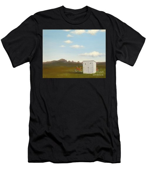 Morning In Montana Men's T-Shirt (Athletic Fit)