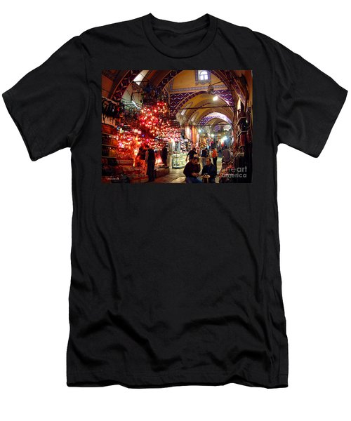 Morning In The Grand Bazaar Men's T-Shirt (Athletic Fit)