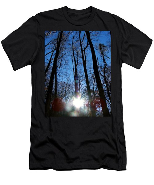 Morning In The Mountains Men's T-Shirt (Athletic Fit)