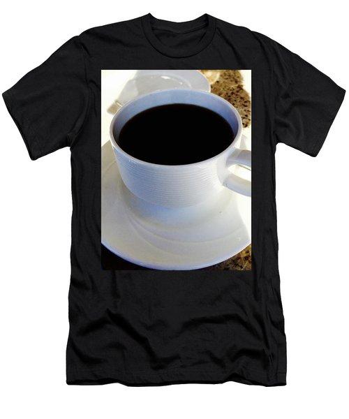 Morning Joe Men's T-Shirt (Slim Fit) by Russell Keating