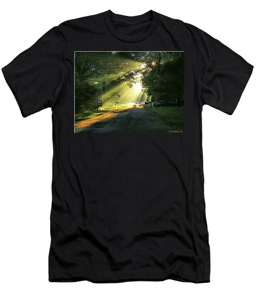 Men's T-Shirt (Slim Fit) featuring the photograph Morning Light by Brian Wallace