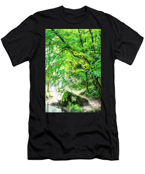 Morning Light In The Forest Men's T-Shirt (Athletic Fit)