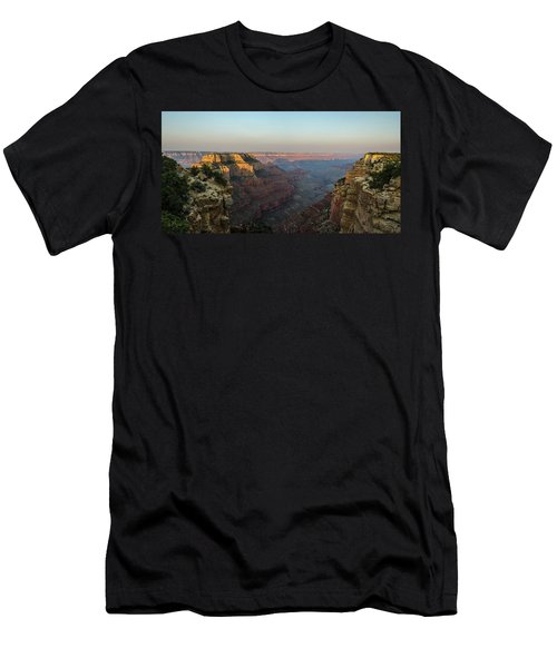 Morning Lights Wotans Throne Men's T-Shirt (Athletic Fit)
