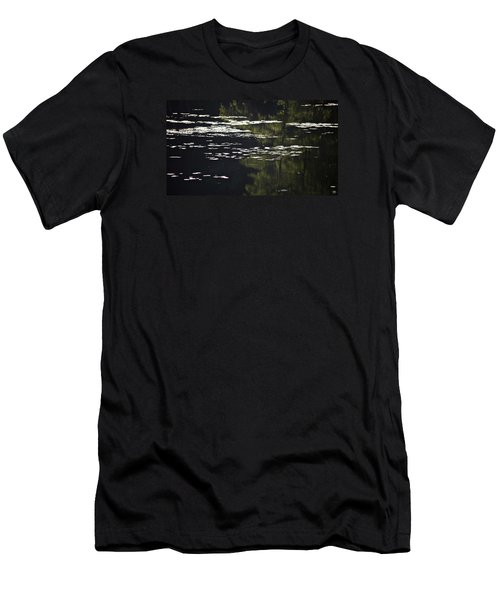 Morning Lily Pads Men's T-Shirt (Athletic Fit)