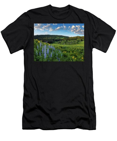 Morning Meadow Men's T-Shirt (Athletic Fit)