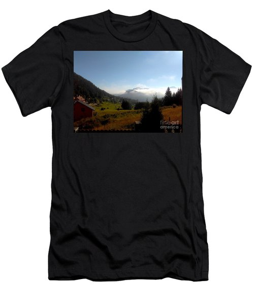 Morning Mist In The Magical Valley Men's T-Shirt (Athletic Fit)