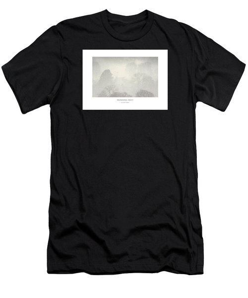 Men's T-Shirt (Athletic Fit) featuring the digital art Morning Mist by Julian Perry