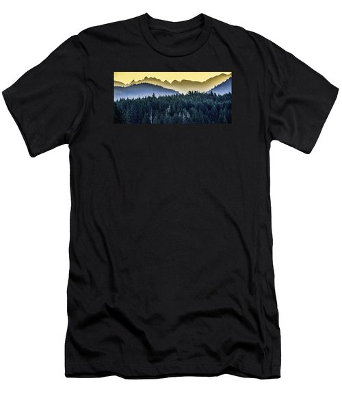 Morning Mountains Men's T-Shirt (Athletic Fit)