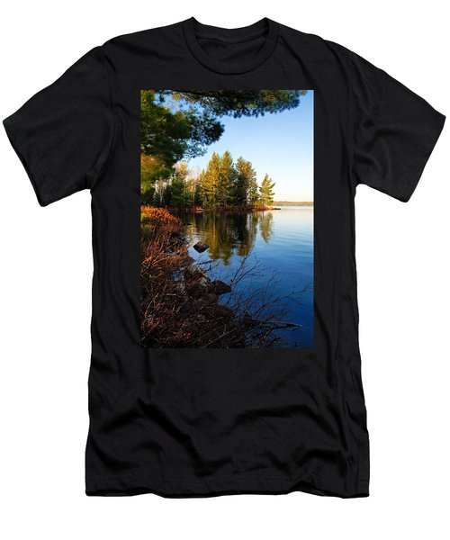 Morning On Chad Lake 4 Men's T-Shirt (Athletic Fit)
