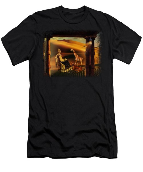 Morning On The Serengeti Men's T-Shirt (Athletic Fit)