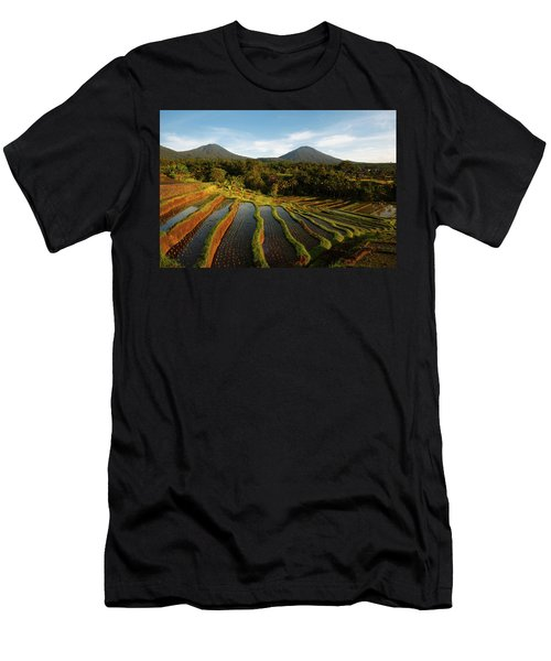 Morning On The Terrace Men's T-Shirt (Athletic Fit)