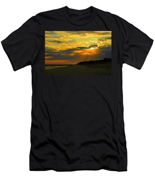 Morning Rays Over Cape Cod Men's T-Shirt (Athletic Fit)