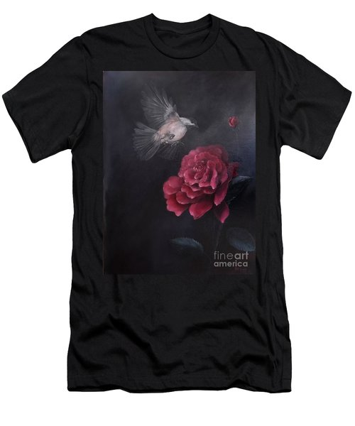 Morning Rose Men's T-Shirt (Athletic Fit)