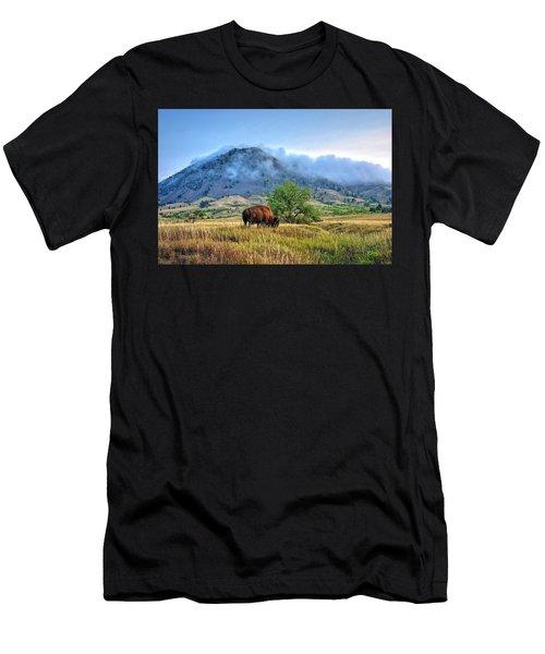Morning Shift Men's T-Shirt (Athletic Fit)