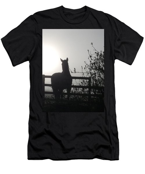 Morning Silhouette #1 Men's T-Shirt (Athletic Fit)