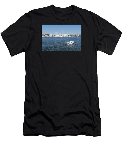 Solitude On The Creek Men's T-Shirt (Athletic Fit)