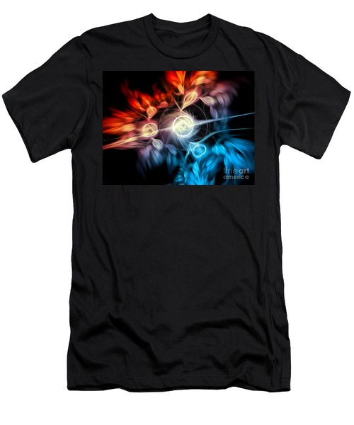 Men's T-Shirt (Athletic Fit) featuring the digital art Morning Star by Michal Dunaj