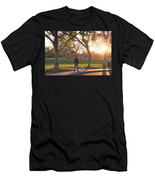 Morning Stroll Men's T-Shirt (Athletic Fit)