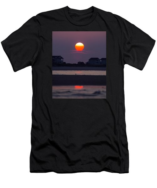 Men's T-Shirt (Slim Fit) featuring the photograph Morning Sun by Alan Raasch