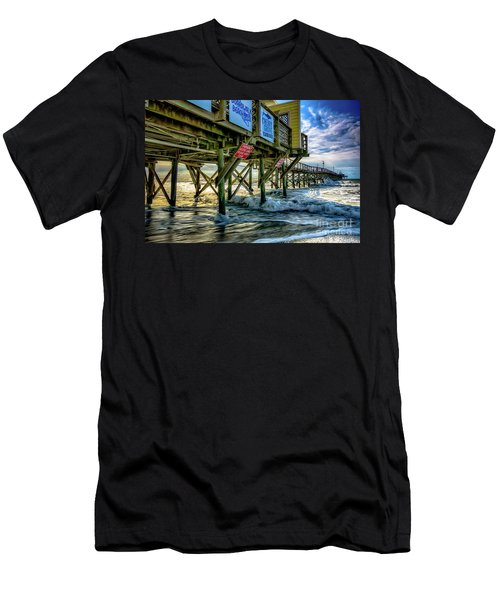 Morning Sun Under The Pier Men's T-Shirt (Athletic Fit)
