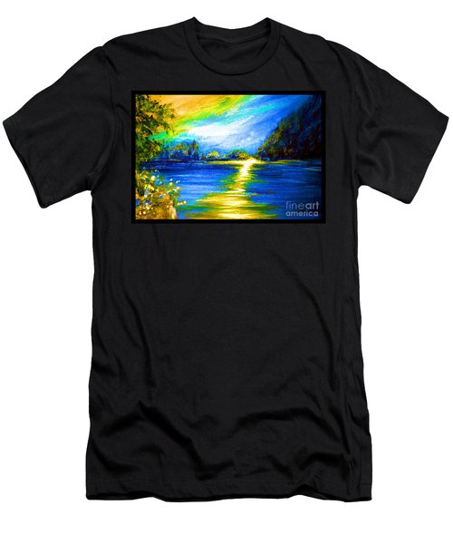 Morning Sunrise 9.6 Men's T-Shirt (Athletic Fit)