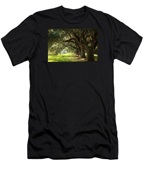 Morning Under The Mossy Oaks Men's T-Shirt (Athletic Fit)