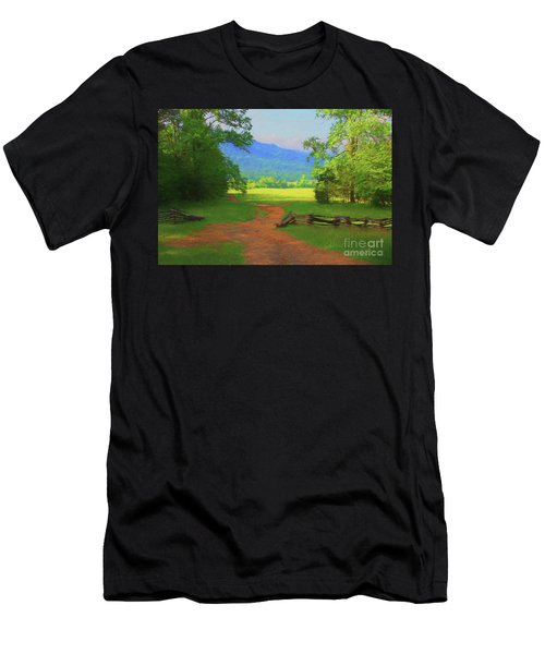 Morning View Men's T-Shirt (Athletic Fit)